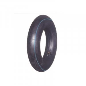 Rubber tire and tube
